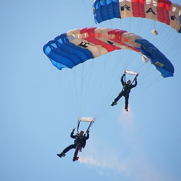 The RAF Falcons Freefall Parachute Display Team 5 by LauraKelk