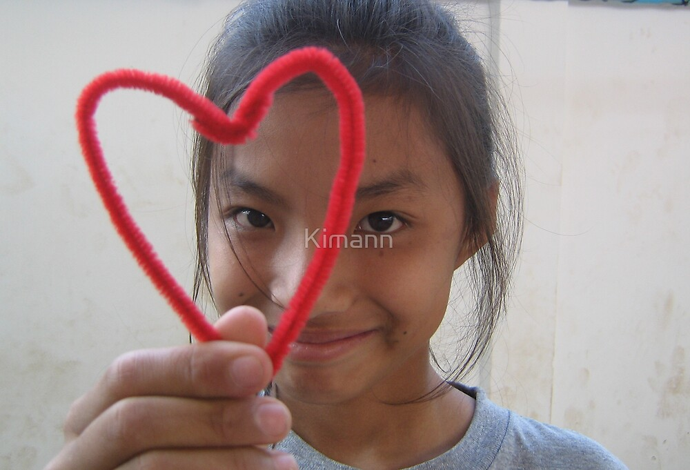love love heart by Kimann