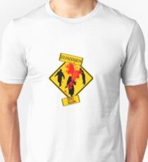 Zombies Crossing Unisex T-Shirt