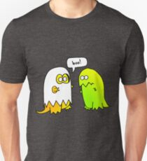 boo! look out, it's a ghost dinosaur Unisex T-Shirt