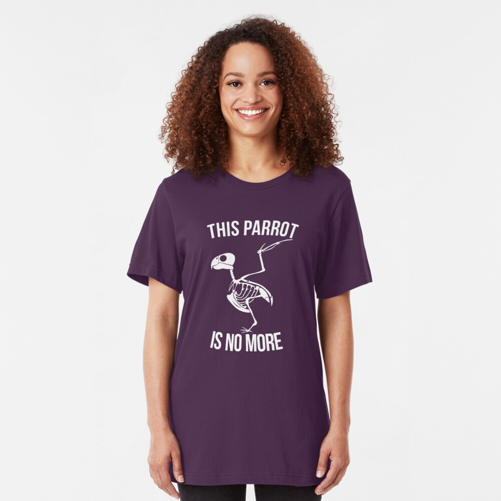 This Parrot Is No More Slim Fit T-Shirt