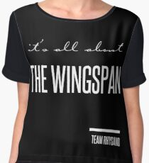 it's all about the wingspan Women's Chiffon Top