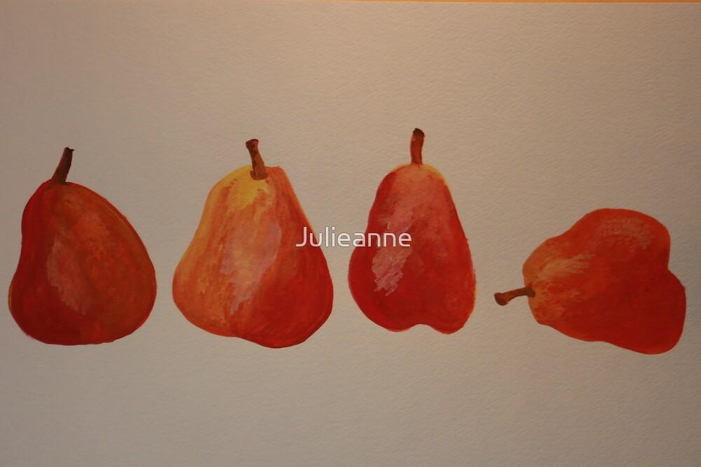 What a pear by Julieanne