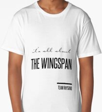 it's all about the wingspan Long T-Shirt