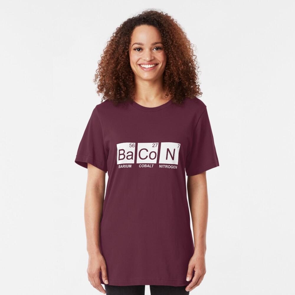Ba Co N (Bacon) Slim Fit T-Shirt