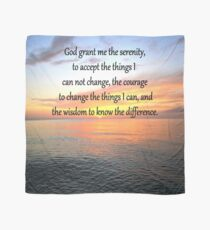 SERENITY PRAYER SUNRISE DESIGN Scarf