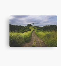 Green & Wild Bali Canvas Print