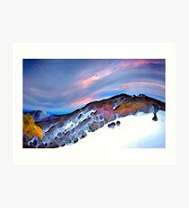 Chamois, Mt Buller Art Print
