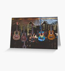 Ukulele Ladies Greeting Card