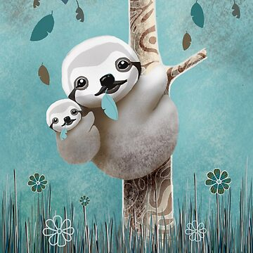 Baby Sloth Daylight by karin