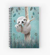 Baby Sloth Daylight Spiral Notebook