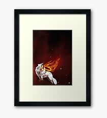 Silent Fire Framed Print