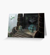 Bonestrewn Crest Greeting Card