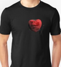 empty heart Unisex T-Shirt