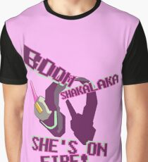 she's on fire Graphic T-Shirt