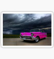 Pink Lightning  Sticker