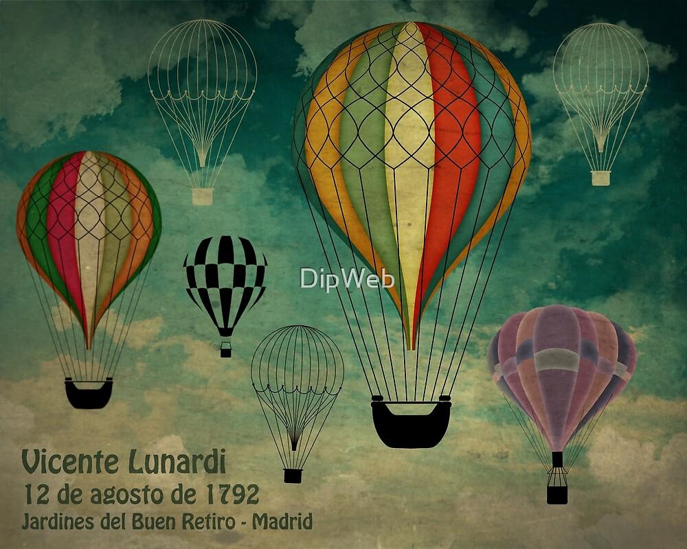 1er vuelo Aerostático en España by DipWeb