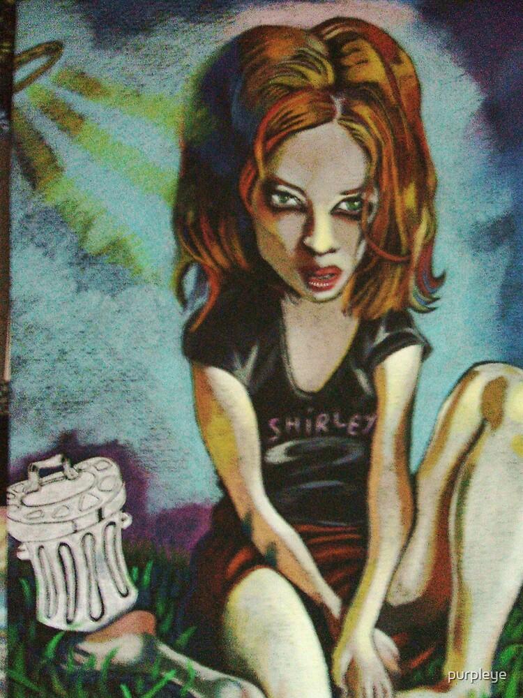 Shirley Manson by purpleye