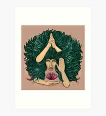 The Moon (Lakshmi) Art Print