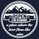 Aspen, California by TeesBox