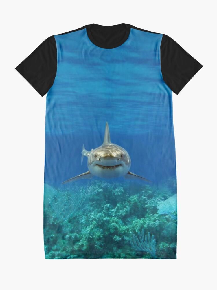 Alternative Ansicht von Hai T-Shirt Kleid