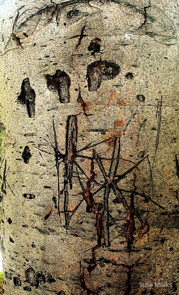 Graffiti Tree#2 by Julie Marks
