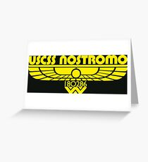 USCSS Nostromo Greeting Card