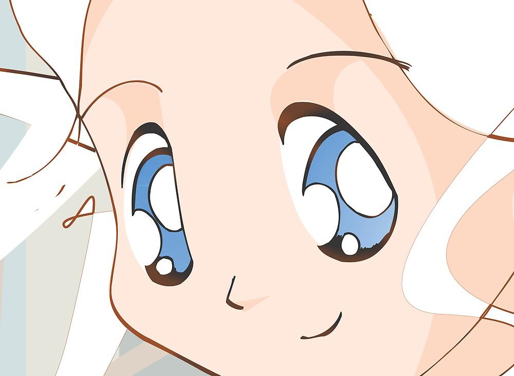 Manga girl 01 by Reece Ward