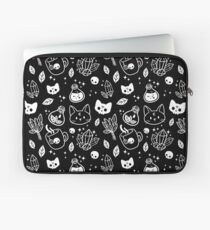 Herb Witch // Black & White Laptop Sleeve