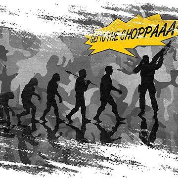 get to the choppaaa , camo b by filippobassano