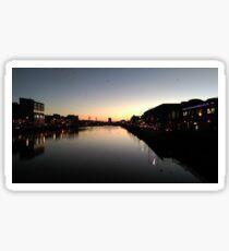 Sonnenaufgang Cork  Sticker