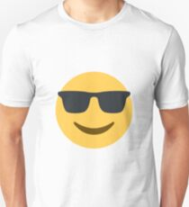 Cool Sunglasses Emoji  Unisex T-Shirt