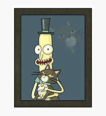 Mr. Poopybutthole Photographic Print