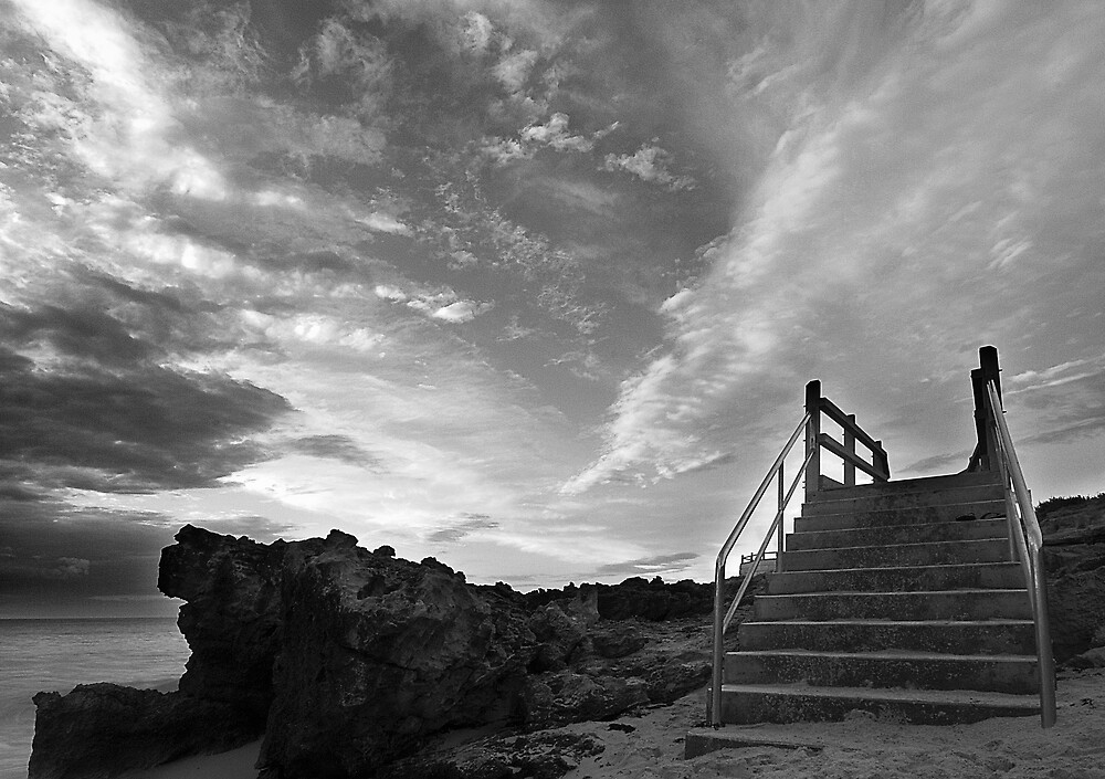 staircase to the sky by alistair mcbride