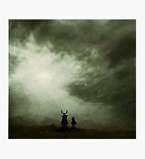 The Horsemen Photographic Print