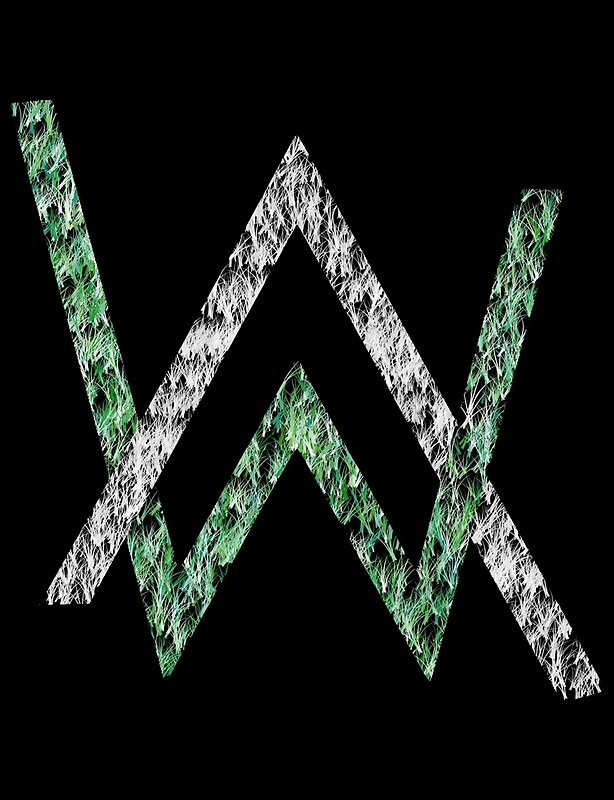 Alan walker logo photographic prints redbubble - Alan walker logo galaxy ...