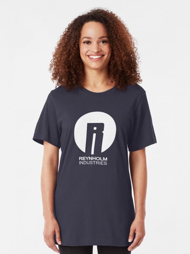 Alternate view of Reynholm Industries Slim Fit T-Shirt