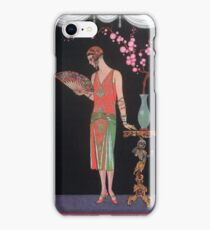 Georges Barbier - Evening Dress iPhone Case/Skin
