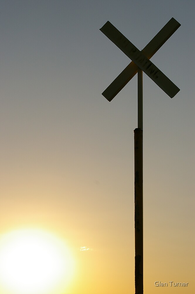 Crossed Sun by Glen Turner