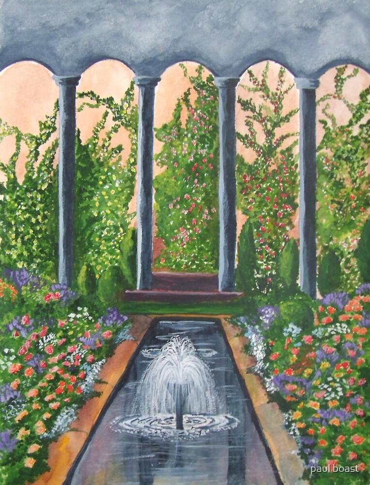 water garden by paul boast