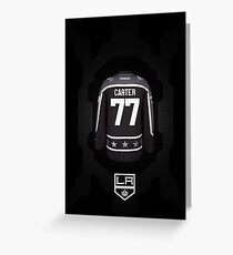 LA Kings Carter 77 king Greeting Card