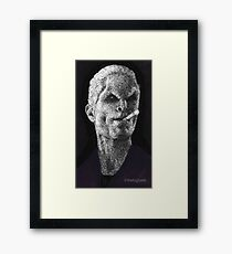 School Hard - Spike - BtVS Framed Print