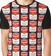 Campbell's Tomato Soup Can - Andy Warhol Graphic T-Shirt