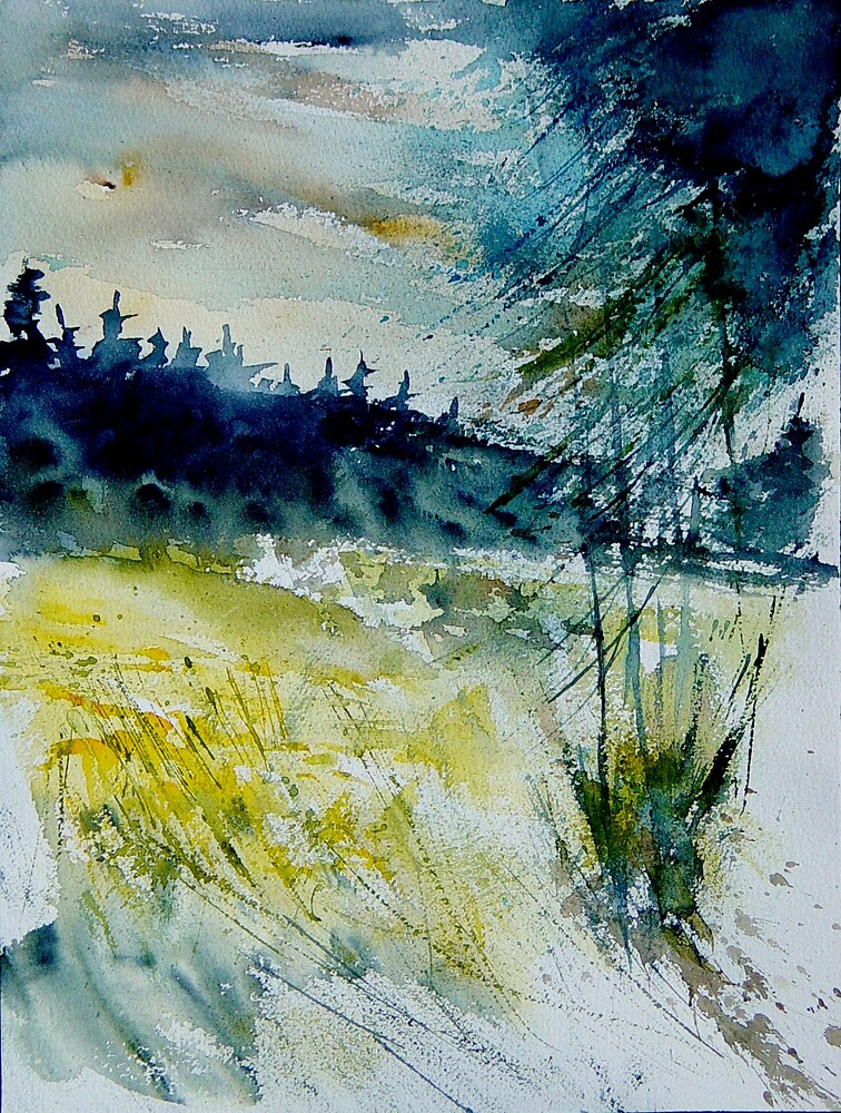 watercolor 120106 by calimero