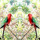 Bird in the Buds by KazM