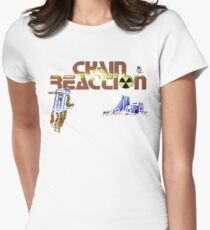 Gaming [C64] - Chain Reaction Womens Fitted T-Shirt