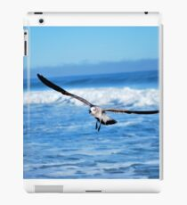 flying above the water iPad Case/Skin