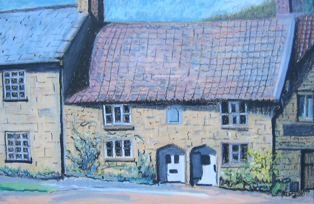 16th Century Cottages, Montacute, Somerset by Tonkin