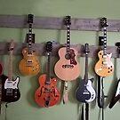 Louis' Wall Of Guitars by Martha Medford