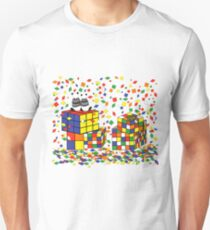 Rubix Panda Unisex T-Shirt